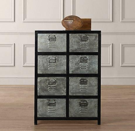 Storage Furniture   Vintage Locker Tall Dresser | Dressers | Restoration  Hardware Baby U0026 Child