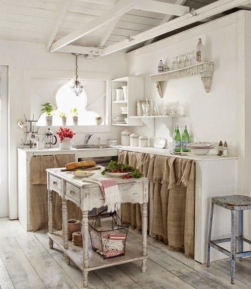 Interior vintage r stico en florida burlap shabby and - Dormitorios shabby chic ...