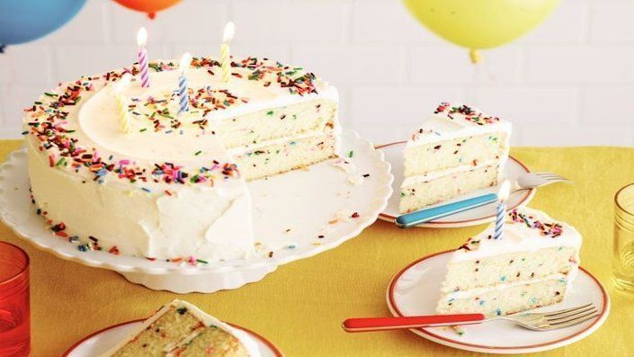Photo of Fluffy Confetti Birthday Cake | Recipes –  Fluffy Confetti Birthday Cake | Recip…