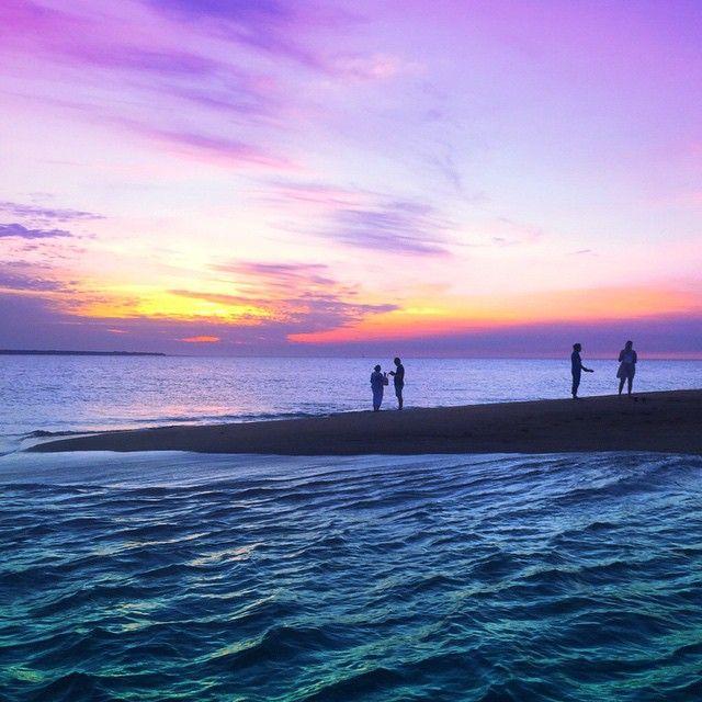 Sunset time in darwin