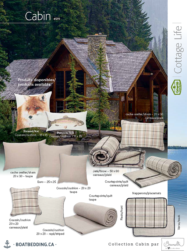 Boatbedding Brunelli Collection Cabin Nos Produits Literie