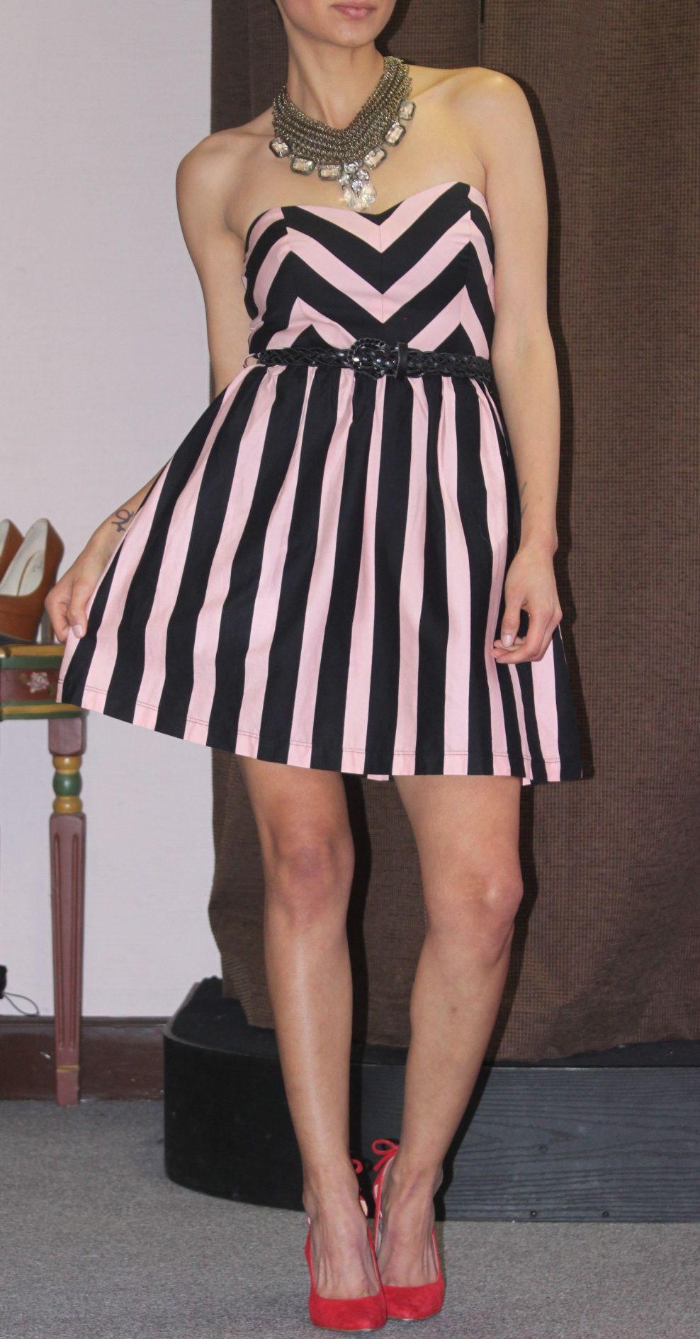 Funky Striped Dress