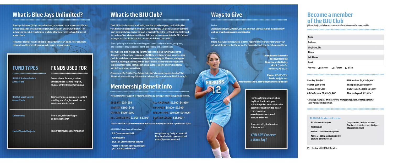 Sponsorship Brochure Template – Sponsorship Brochure Template