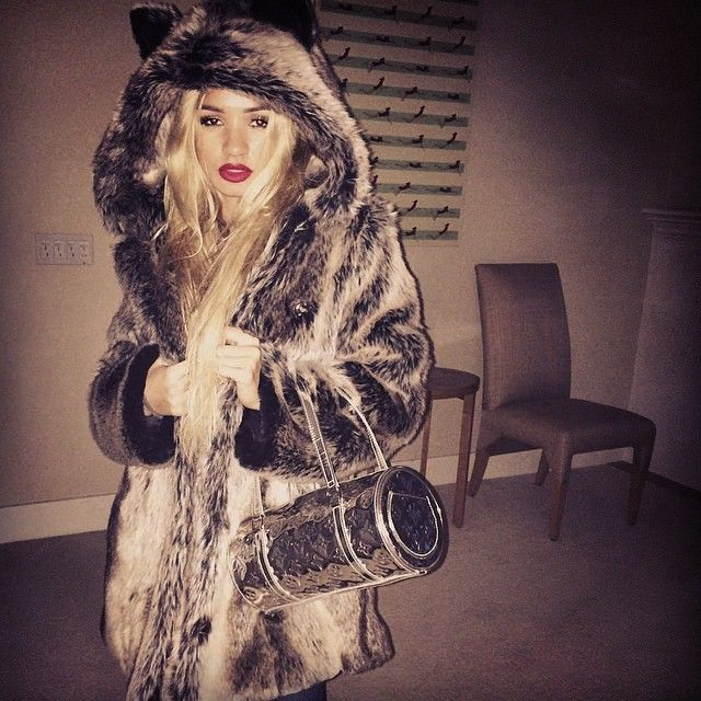 a1ab9e24ddca Princess Pia Mia killin' it in her Grey Wolf Jacket! Join the tribe at  www.spirithoods.com!