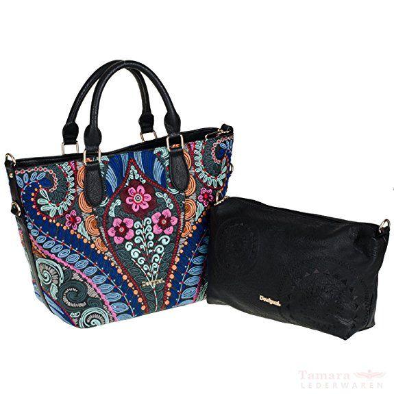 Damen Handtasche Cuenca Metal Splatter negro Desigual DbOH8N