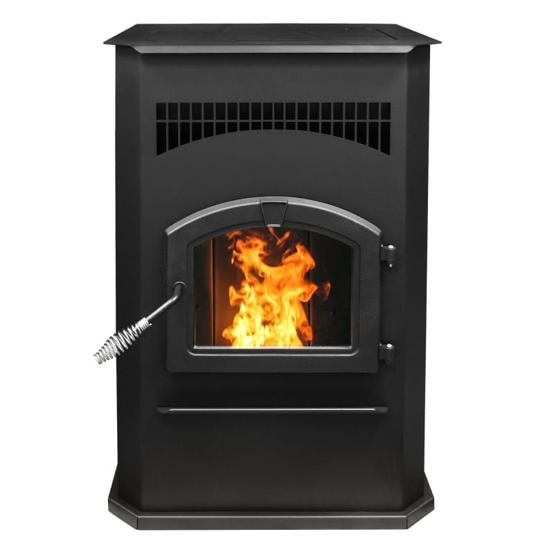 Pleasant Hearth Ph50cabps Cabinet 50000 Btu Wood Pellet Burning Stove With Led Black Stove Free Standing Pellet Best Pellet Stove