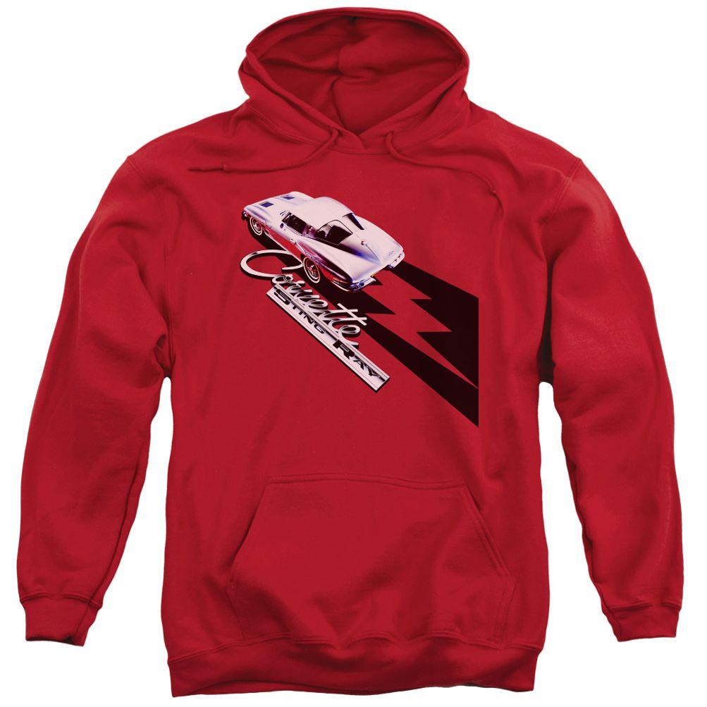 Chevy Hoodie Split Window Stingray Red Sweatshirt Hoody Red Sweatshirts Hoodies Sweatshirts Hoodie [ 1003 x 1003 Pixel ]