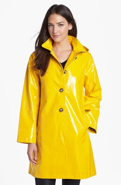 b29a39f2685 Jane Post Women s Princess Rain Slicker with Detachable Hood ...