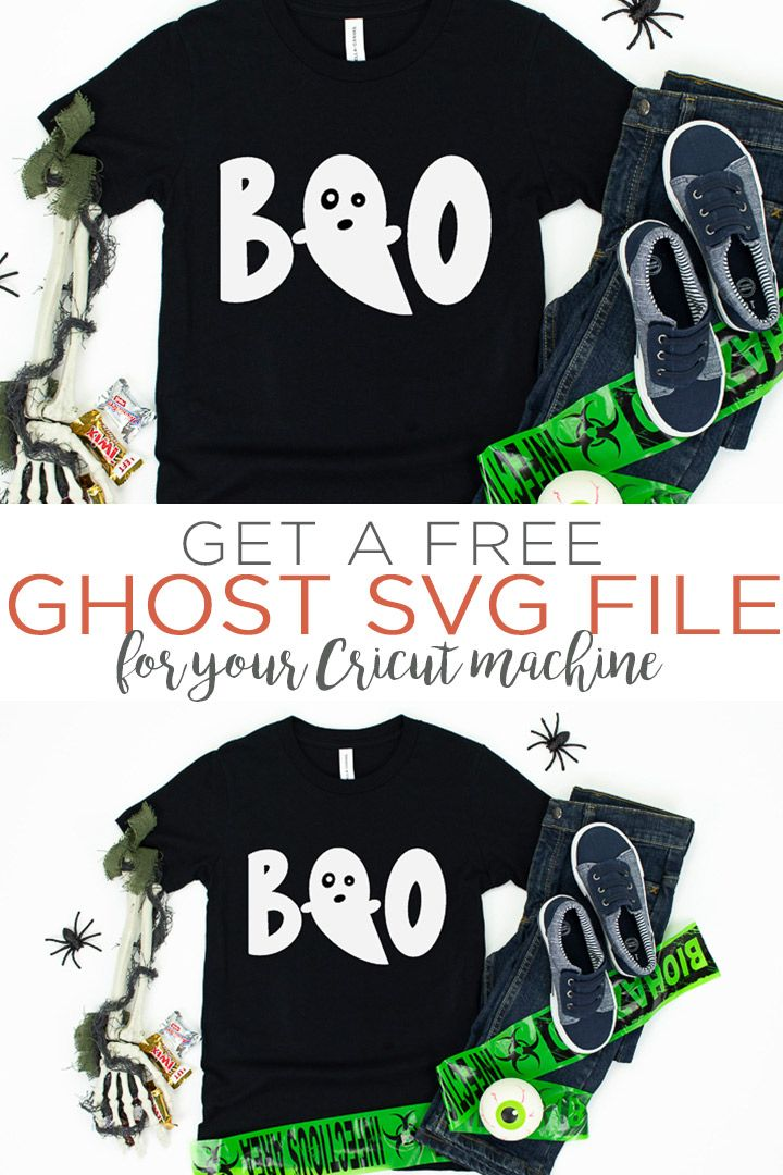 Free Ghost SVG Plus 14 More Halloween SVG Files