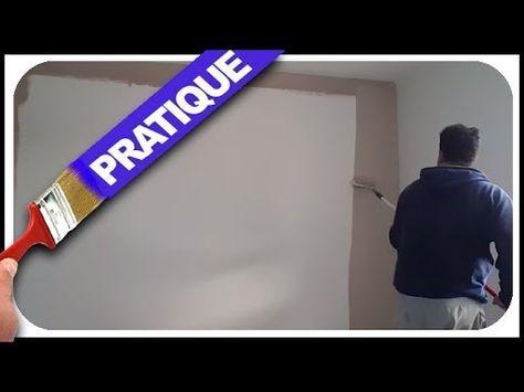 ⏩Comment peindre un mur en couleur comme un pro - YouTube - comment peindre le plafond