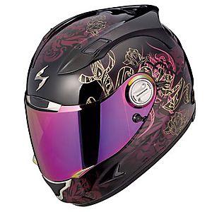 My Helmet Love It Scorpion Womens EXO Lilly Helmet Street - Motorcycle helmet decals for ladies