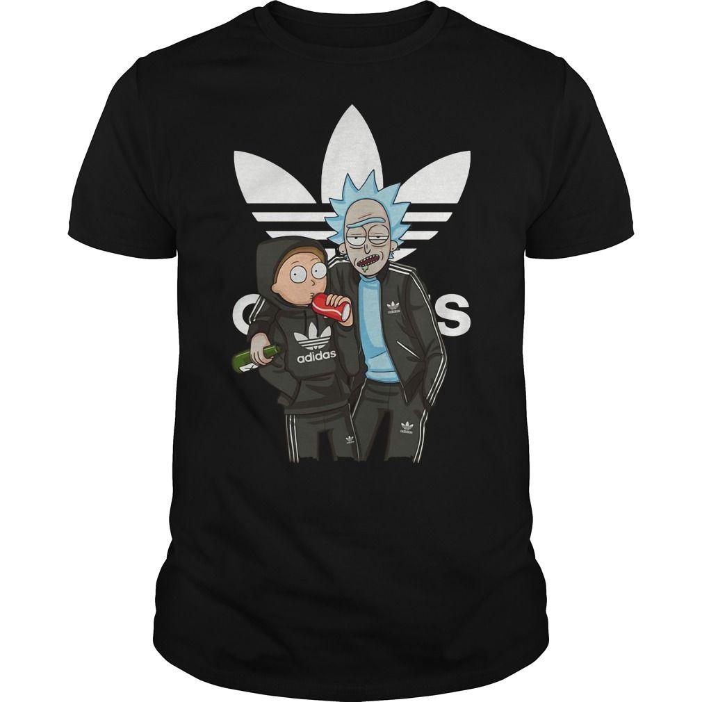 Rick And Morty Adidas Shirt Rick And Morty Adidas T Shirt Rick