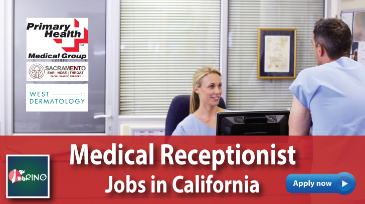 Search 18509 Entrylevel Medicalreceptionist Jobs California Usa On Jobrino Com Check Out The Companies Medical Receptionist Receptionist Jobs Job Opening