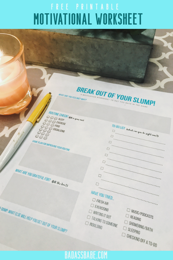 how to get out of a diet slump