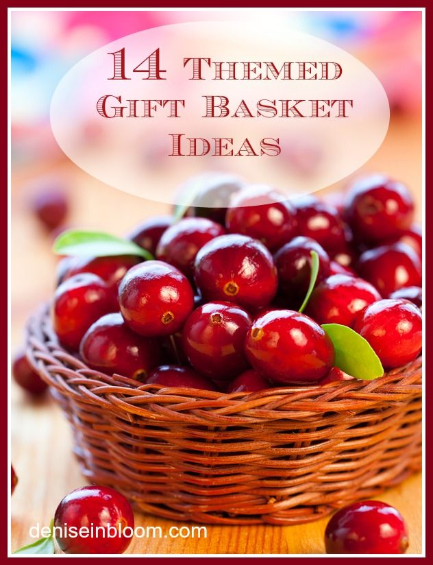 14 Themed Gift Basket Ideas