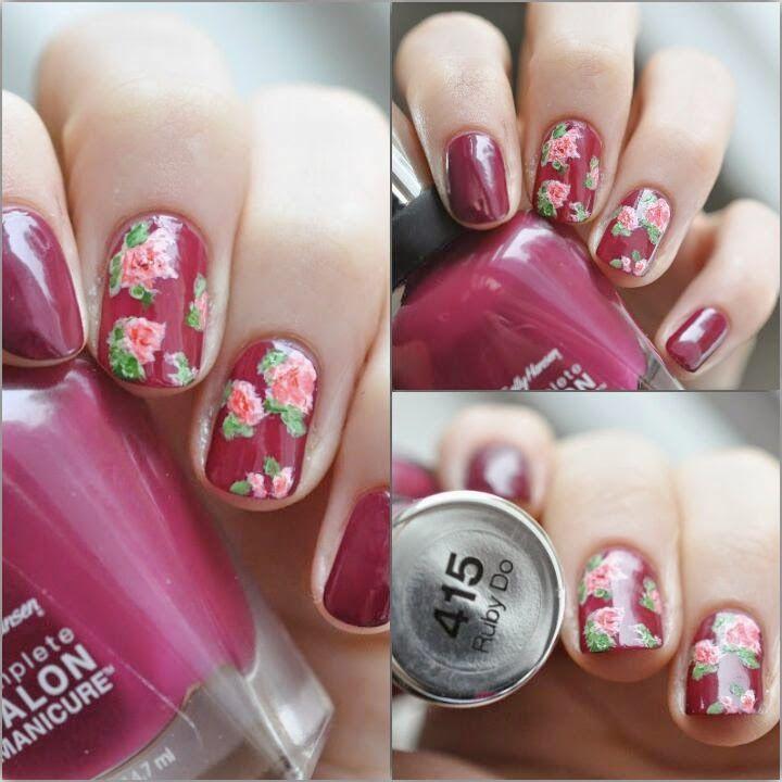 FavoriteNails: Ein Strauß hm.. Nägel Rosen für euch!