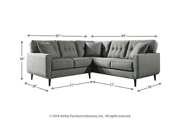 Zardoni 2 Piece Sectional With Images Sectional