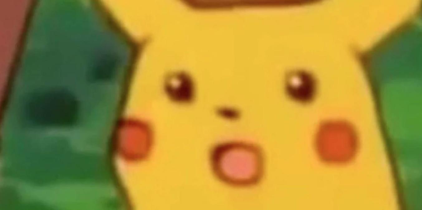 Surprised Pikachu Is A Meme About Knowing Better Pikachu Memes Pikachu Meme Template