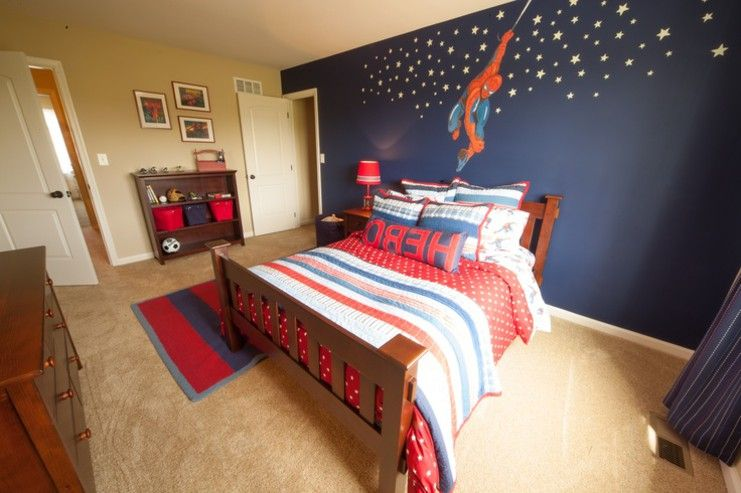 Exceptional Spiderman Decor Ideas On Bedrooms Design