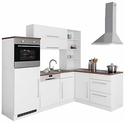 Held Möbel Winkelküche »Samos« ohne E-Geräte, Breite 230x170 cm - küchen ohne geräte