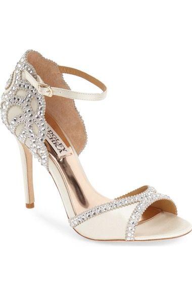 Badgley Mischka Roxy Sandal Women Nordstrom Roxy Sandals Bride Shoes Badgley Mischka Shoes Wedding