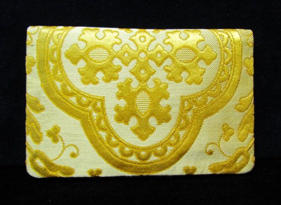 Imperial Russian brocade clutch purse sold by by mathildasattic, $250.00