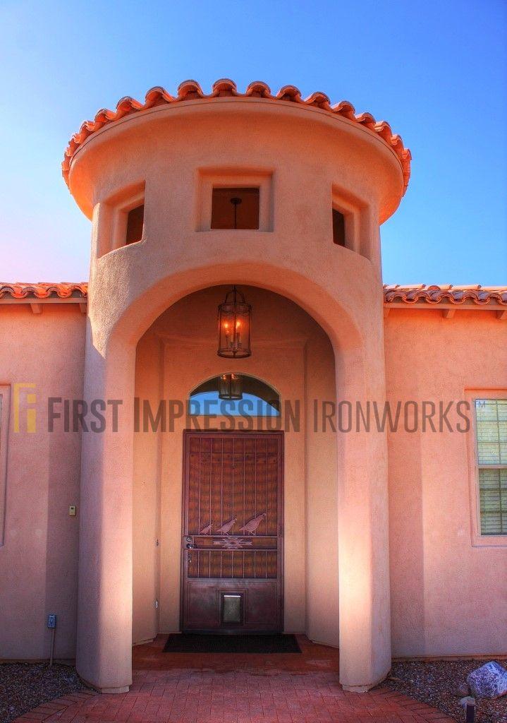 First Impression Ironworks front door #ornamentaliron #frontdoor #irondoor #customiron #ironartwork & First Impression Ironworks front door #ornamentaliron #frontdoor ...