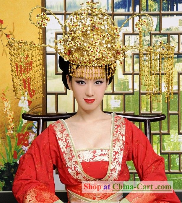 Modern take on the traditional Chinese Empress Headdress ...
