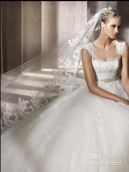 Wholesale 2012 Best Style Custom-Made Beautiful Sexy Bride Wedding Dress Square Neckline Bridal Dresses, Free shipping, $65.4-149.5/Piece | DHgate