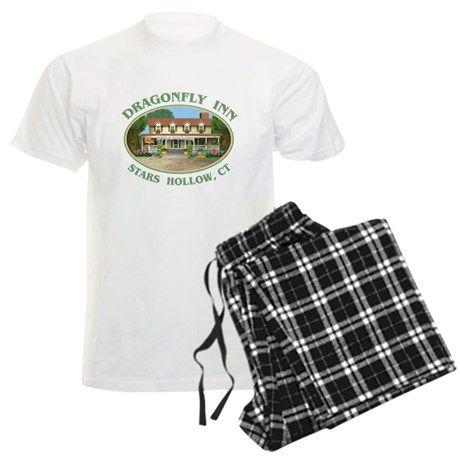 Dragonfly Inn #Pajamas #DragonflyInn #Starshollow CT painting by TheTshirtPainter #GilmoreGirls #GilmoreGirlsRevival shirts pillows more - for all this design - click here - http://www.cafepress.com/dd/107329394