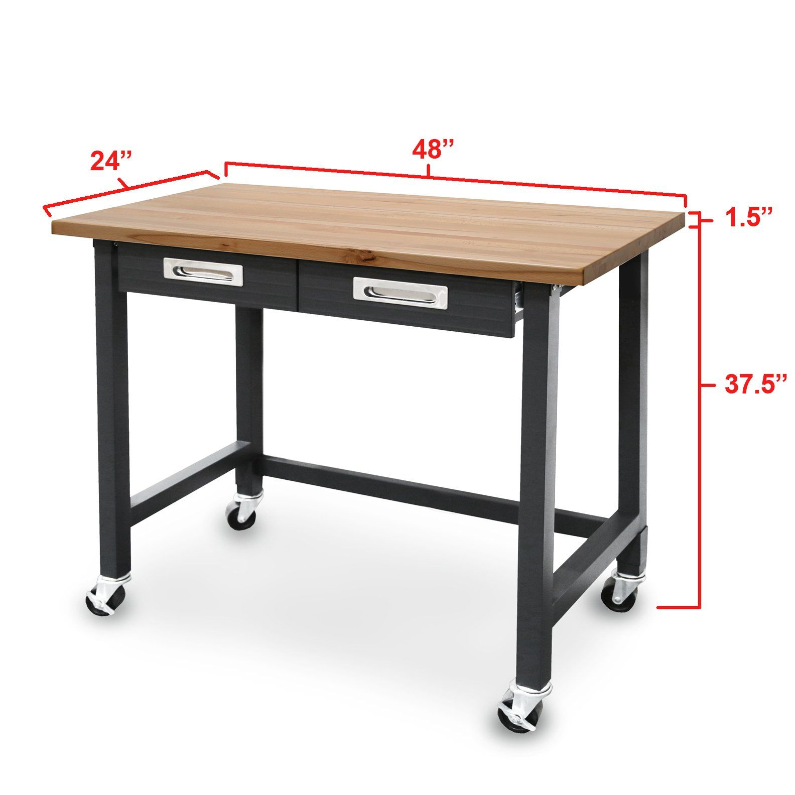 Robot Check Wood Top Workbench Woodworking Plans Toys Workbench