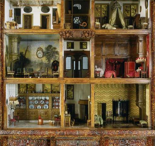 Dollhouse Miniatures Amsterdam: Rijksmuseum.nl Poppenhuis Van Petronella