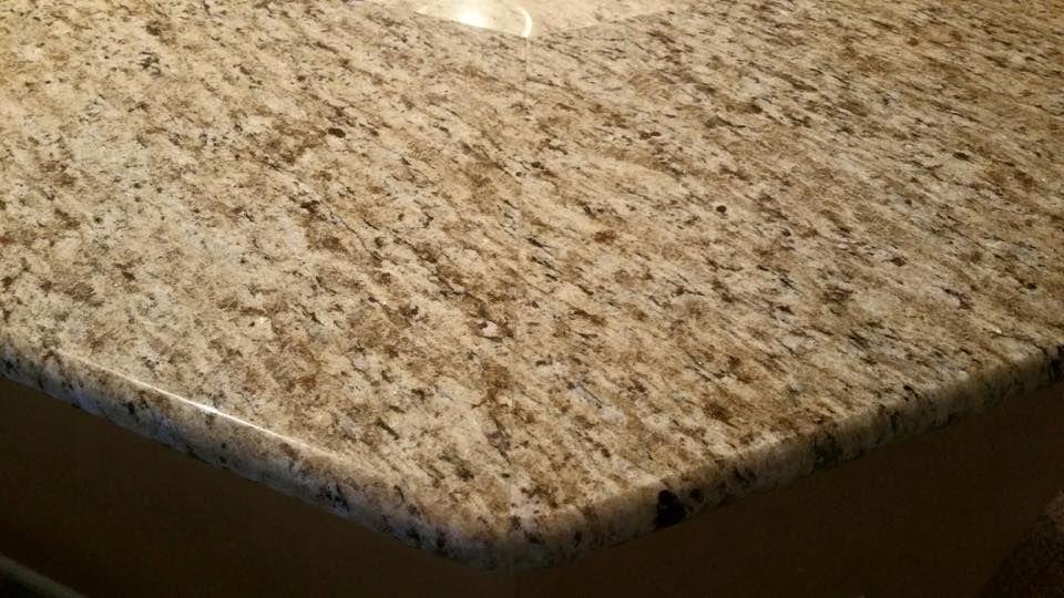 Beautiful Invisible Seam Ornamental Granite Kitchen Countertops Light Cabinets Level 1 Granite Granite Countertops Kitchen Countertops Granite Kitchen