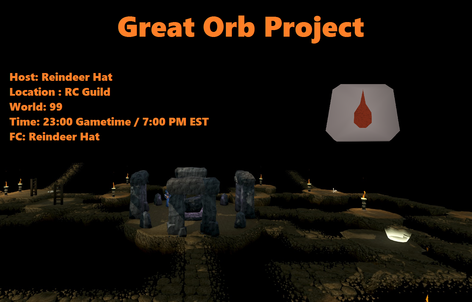 Great Orb Project Blood Tablet For All Runeswap Osrs Faves
