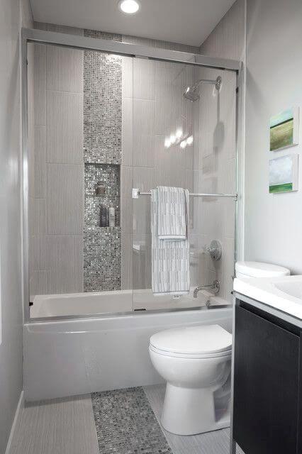 Teeny Tiny Bathroom Bathroom Revamp 7 Ways To Visually Create More Space Teenytiny Bathroom Bathroom Design Small Small Bathroom Bathroom Remodel Master