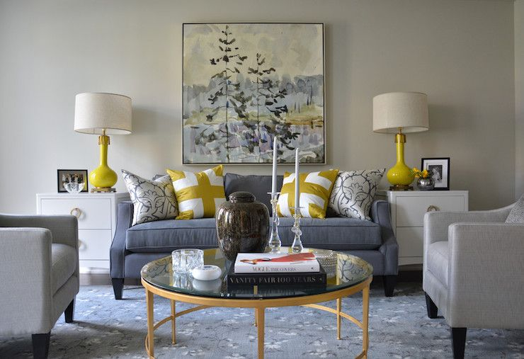 Grey Yellow And Beige Living Room Living Room Grey Grey And Yellow Living Room Living Room Designs