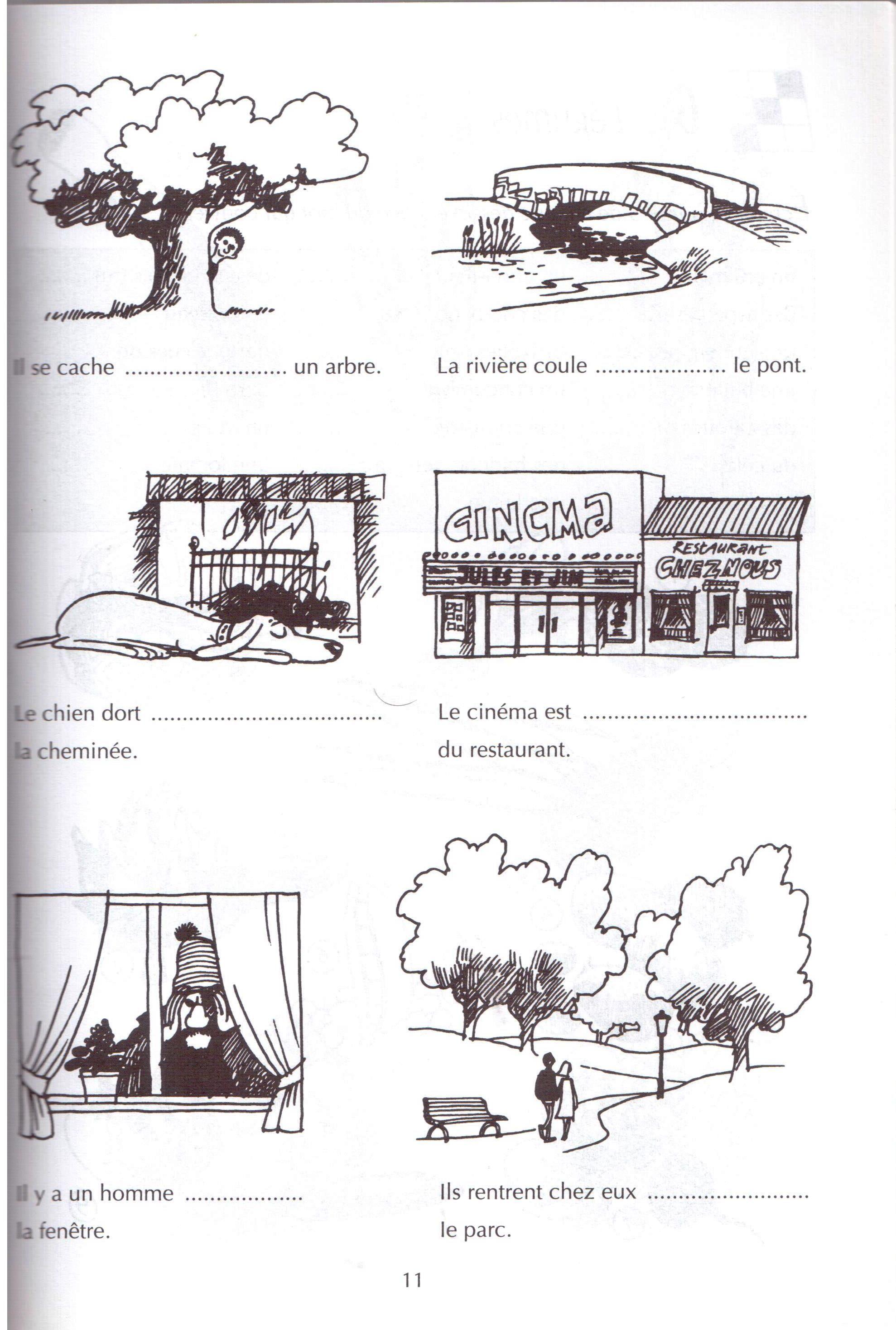 Preposition De Lieu 1b