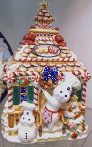 Pillsbury Doughboy Christmas Cookie Jar By Danbury Mint Christmas