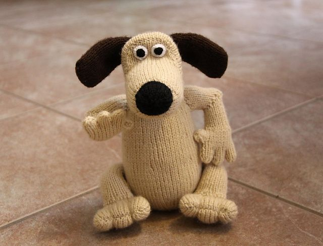 Ravelry: Gromit pattern by Alan Dart | Completed Knitting ...