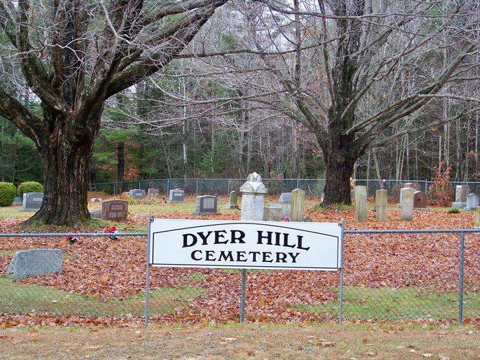 Dyer Hill Cemetery So  Braintree, MA  | Braintree my