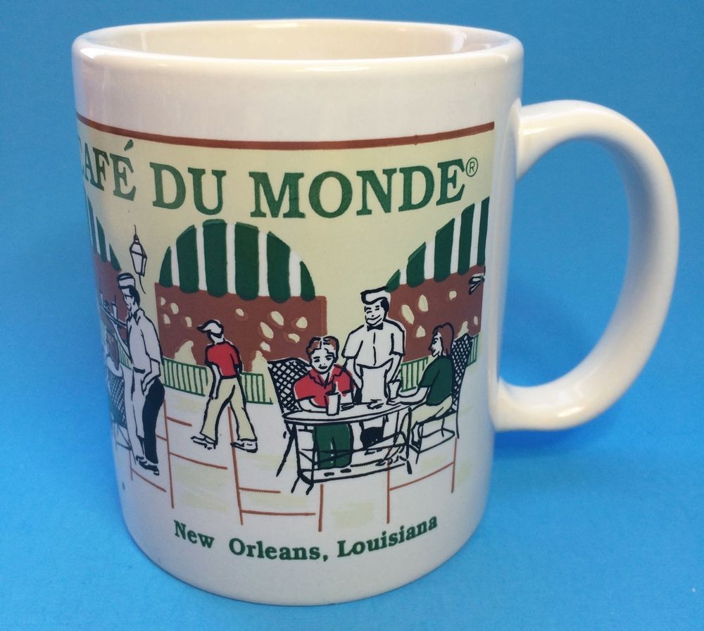 Cafe Du Monde Coffee Cup Mug New Orleans French Market