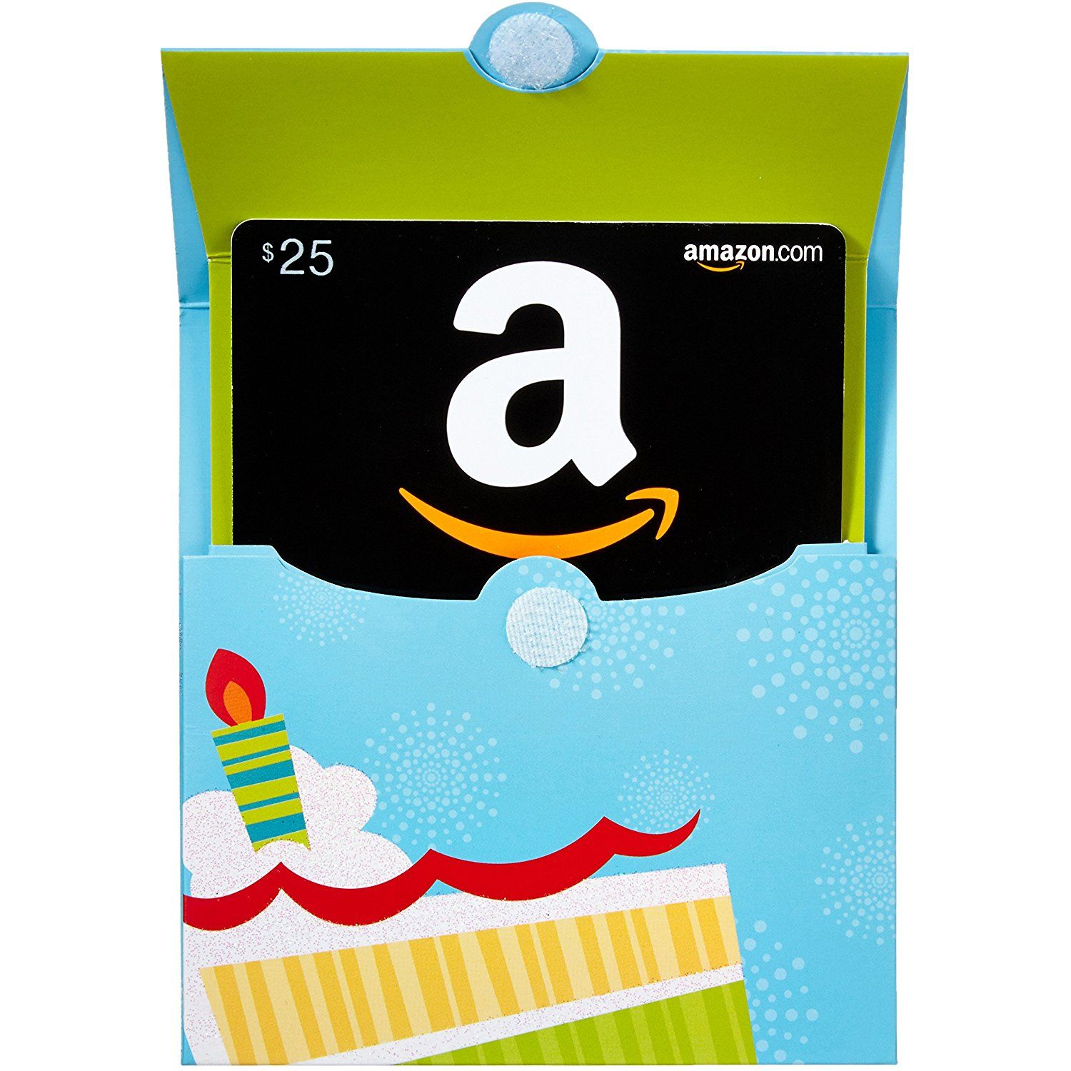 Amazon Gift Cards In A Birthday Reveal Classic Black Card Design See This Great Product Is An Affiliate Link GiftCards