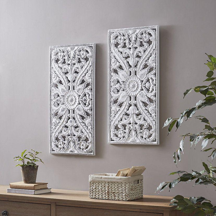 Botanical Metal Wall Decor 2 Piece Set