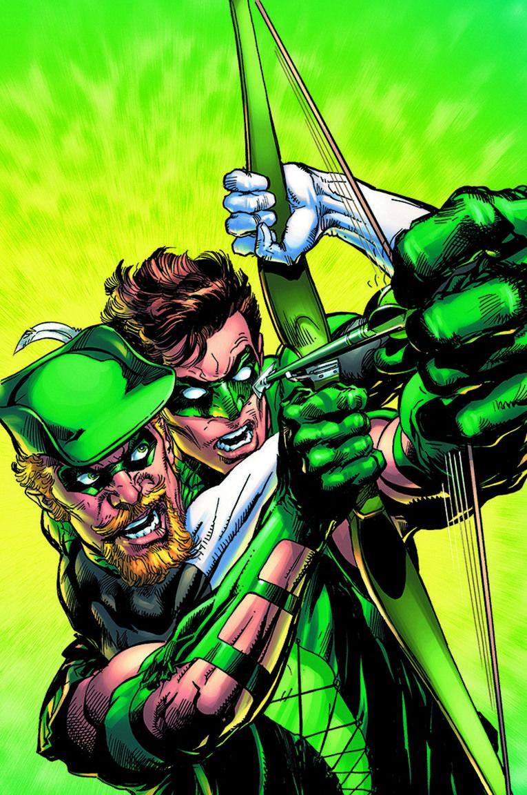 O Arqueiro Verde e o Lanterna Verde de Neal Adams.