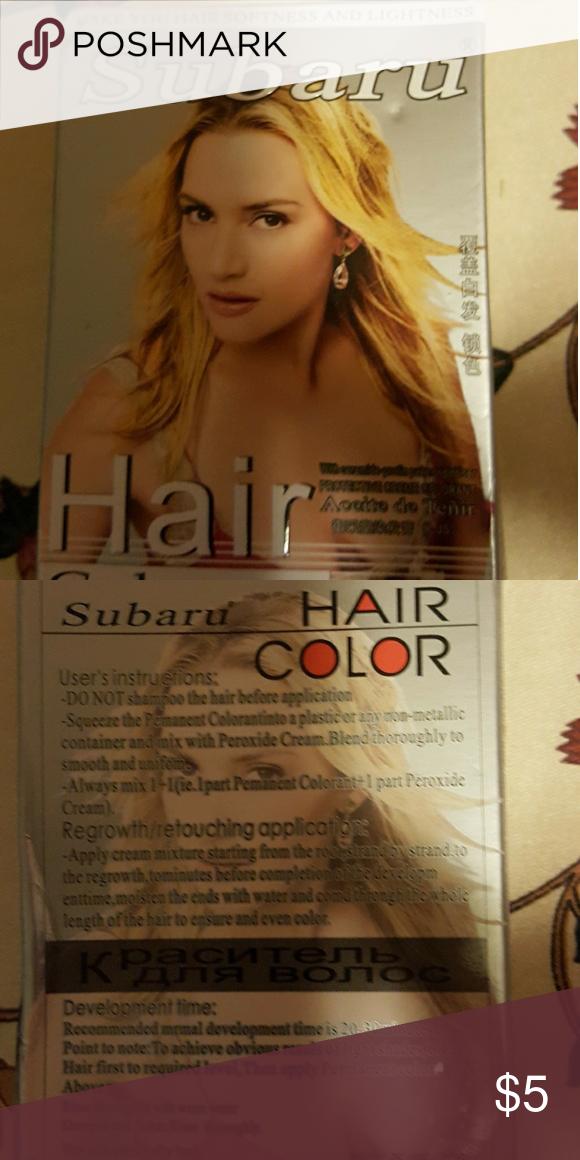 New Blonde Hairdye New In Box Light Blonde Subaru Accessories Hair Accessories Hair Color Blonde Subaru