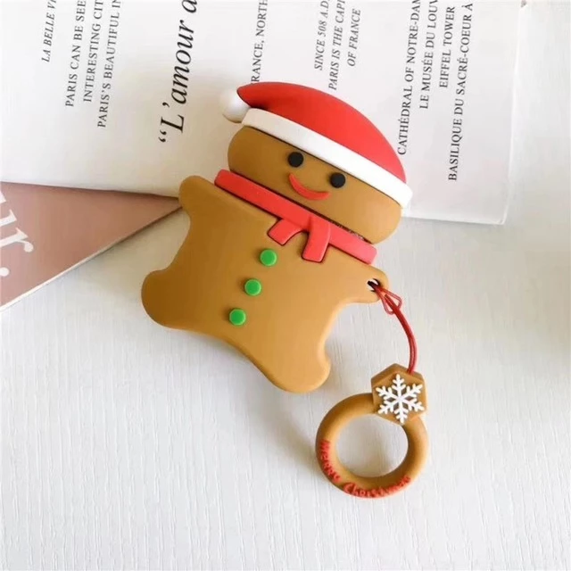 Christmas Ginger Bread Man Airpods Cases Buybie Airpod Case Case Apple