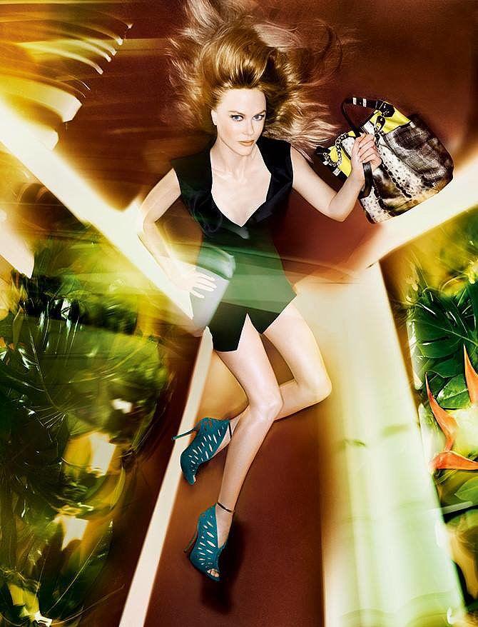 4c98cefdf4f09 Nicole Kidman photographed by Solve Sundsbo. Photo courtesy of Jimmy Choo.  Jimmy Choo Spring 2014 41   88
