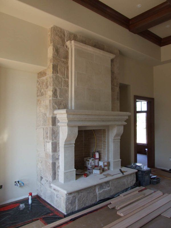 Cast Stone Fireplaces Fireplace Mantels Mantel Surrounds