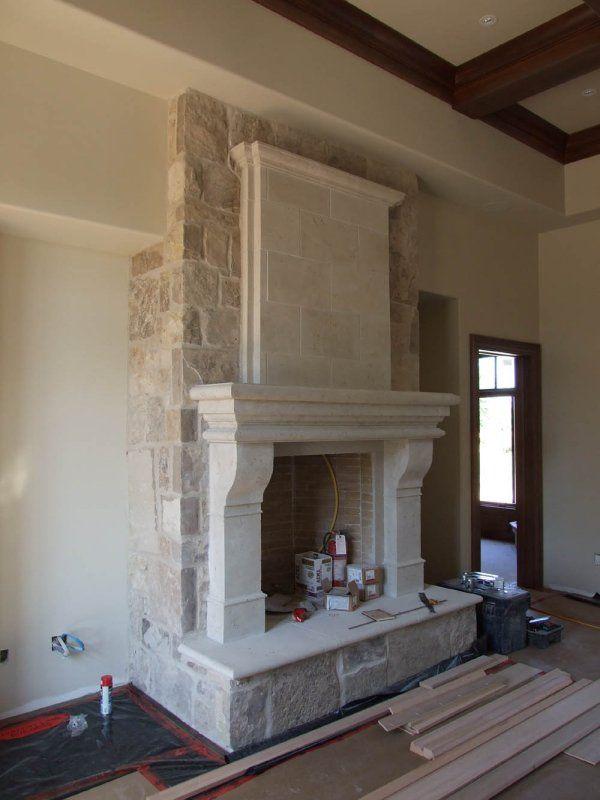 Cast Stone Fireplaces, Stone Cast Fireplace Mantels, Mantel Surrounds  Cast Stone Fireplace