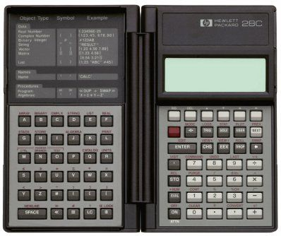 HP 28C just got rid of this one Vintage Calculator Pinterest - time card calculator